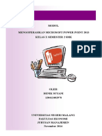 Modul Powerpoint Denik 2
