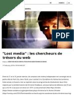 Lost Media