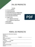 Perfil Sistemas de Información 2