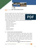 Bab IX - Rencana Anggaran Biaya Saumlaki 27.12.2014 OK!