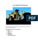 Use an Operation of Caterpillar 854G Wheel Dozers(Final)