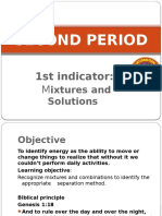Step 5 Science 2 Period Mixture First Indicator