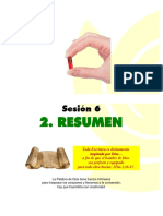 SESIÓN 6 - 2. Resumen