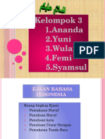 Ppt Ejaan Bahasa Indonesia