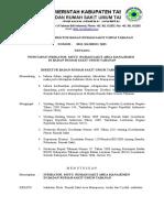 SK Penetapan Indikator Area Manajemen Doc