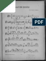 Vals de Chopin Tarrega