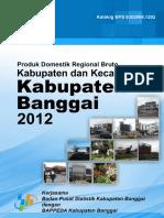 Pdrb Kabupaten Banggai 2013