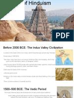 History of Hinduism