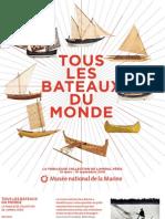 """Dossier de presse """"Tous Les Bateaux Du Monde"""""""