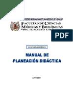 Manual de Planeacion Didacticasdm,d