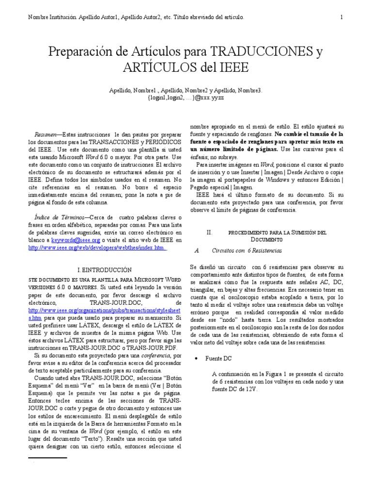 Ejemplos Formato IEEE.doc