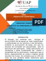 Exposicion de Drenaje en Carreteras -Grupo 6