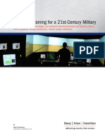 Enhanced Training for a 21st Century Military_MUY BUENO_EJEMPLOS MAS ALLA de SIMULADORES