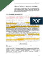 PROPIEDADES DE LOS RESIDUOS