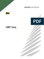 CAMIO7 Training