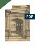 La Defensa de La Constitucion - Jorge Mario Garcia Laguardia - PDF