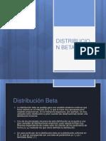 Distribución beta
