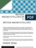 Metode Magnetotelluric(MT)