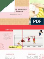 Crecimiento y Desarrollo en RN y Lactante