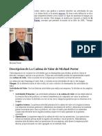 Cadena de Valor Michael Porter