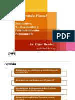 II Jornada Fiscal Residentes No Residentes
