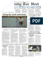 The Daily Tar Heel for April 14, 2016