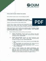Majlis Konvokesyen Oum 2016