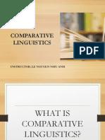 Comparative Linguistics - Orientation