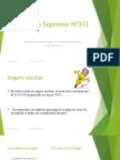 D.S Nº313-Presentacion MLPR
