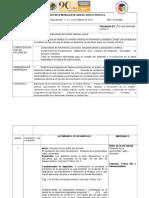 Planeacion Ciencias Bloque II Sec.1