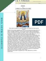 Oracion Ala Virgen de La Caridad Del Cobre