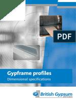 DS Gypframe Profiles