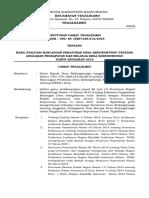 Keputusan Camat Tegaldlimo tentang Hasil Evaluasi APBDesa