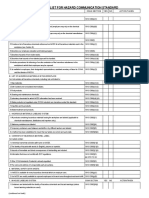 OSHA Hazcom Checklist