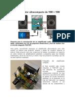 Amplificador Ultracompacto de 15W