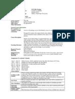UT Dallas Syllabus for sci5324.0i1.10u taught by Cynthia Ledbetter (ledbeter)