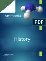 Ammonia Info ppt.