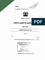 PublicProcurementandAssetDisposalAct 33of2015-4(1)
