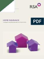 RSA Home Proposal Form