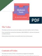 hinduism presentation  texts
