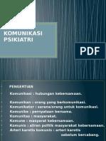 KOMUNIKASI PSIKIATRI