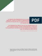 documento informativo Bolivia