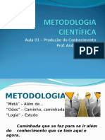 Metodologia Científica - Aula 1 André