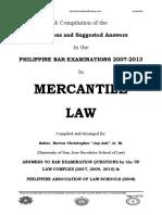 2007 2013 Mercantile Law