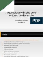 Arquitectura y diseño de un entorno de desarrollo