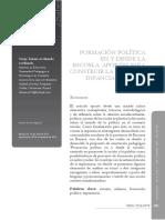 Formación política en y desde la escuela. Aportes para construir la relación infancia escuela política (artículo).pdf