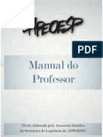 Manual Do Professor APEOESP 2009