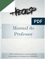 Manual Do Professor APEOESP 2009