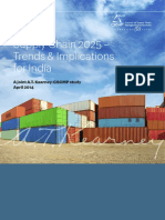 Supply Chain 2025-Trends and Implications for India
