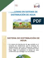 Problemas en Sistema de Distribución de Agua